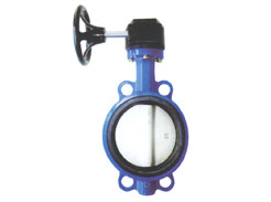 The wafer butterfly valve