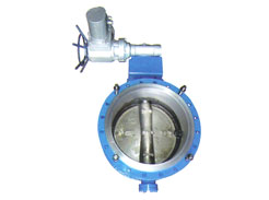 Air-operated two-way flanged pneumatic expansion (flange)